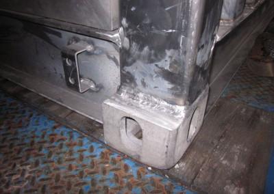 Dettaglio Shelter Alluminio